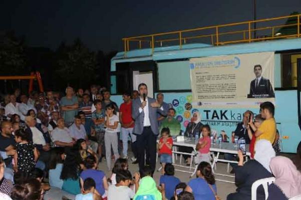 Başkan Yüksel, 'Mahallemi Dinliyorum' buluşmaları kapsamında vatandaşlarla bir araya geldi