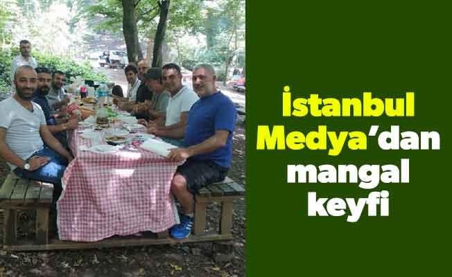 İstanbul Medya'dan mangal keyfi