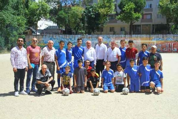 Kartal'da Amatör Spor Kulüplerine Destek