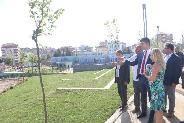 Başkan Gökhan Yüksel'den Cevizli Meydanı müjdesi
