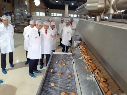 Başkan İmamoğlu'ndan Halk Ekmek Fabrikası İncelemesi