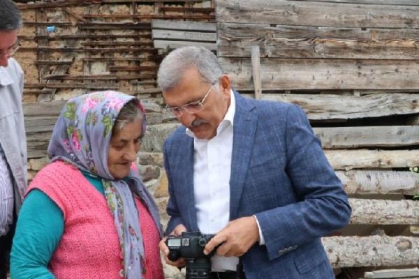 Başkan Murat Aydın Fotoğraf Sözünü Tuttu