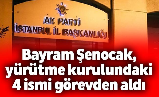 Bayram Şenocak, yürütme kurulundaki 4 ismi görevden aldı