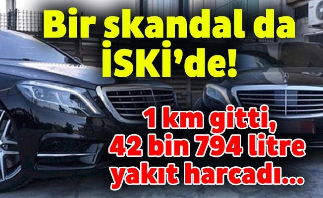 Bir skandal da İSKİ'de! 1 km gitti, 42 bin 794 litre yakıt harcadı…