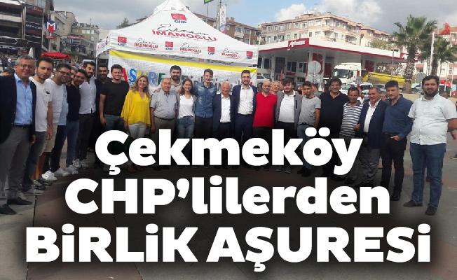 Çekmeköy CHP'lilerden birlik aşuresi