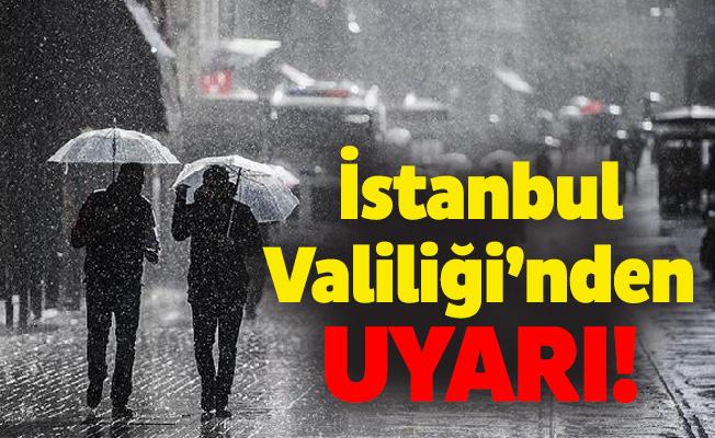 İstanbul Valiliği'nden uyarı!