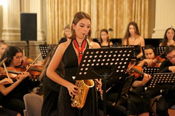 Alman Başkonsolosluğu'nda İki Kardeş Ülke Gençlerinden Muhteşem Konser