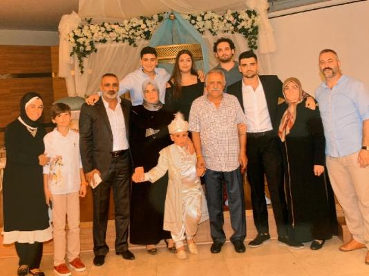 Demirkol ailesinin mutlu günü