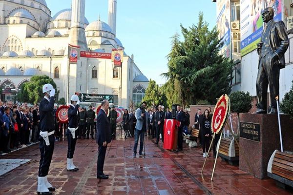 Atatürk vefatının 81. Yılında Maltepe'de törenle anıldı