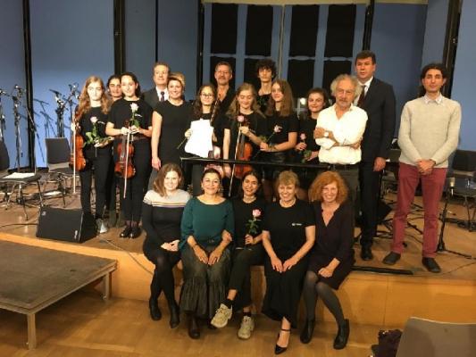 Çocuk Sanat Merkezi Öğrencileri Almanya Ve Polonya'da Konser Verdi
