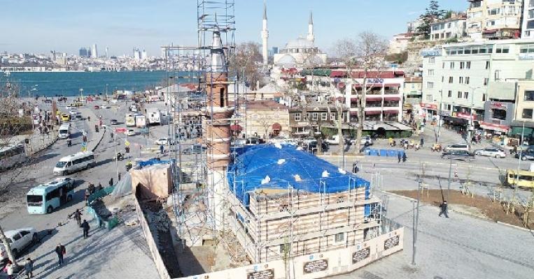 Selman Ağa Camii Restorasyonunda Sona Yaklaşılıyor