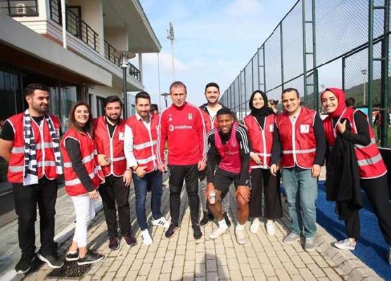 Ümraniye Genç Kızılay'dan Beşiktaş Tesisleri'ne Ziyaret