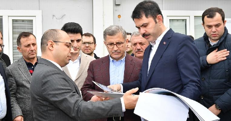 Bakan Murat Kurum Üsküdar'ı Ziyaret Etti