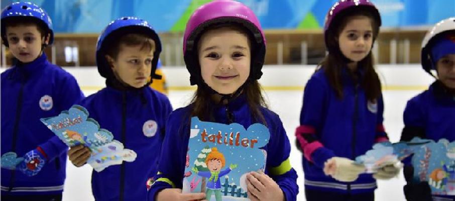 Haydi Çocuklar Buz Pistine!..