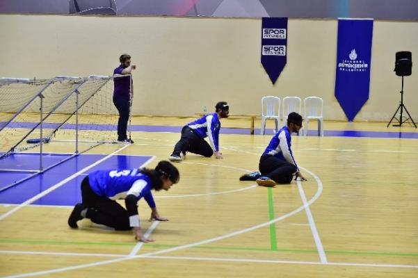 İBB'den Görme Engellilere Özel Spor Etkinliği