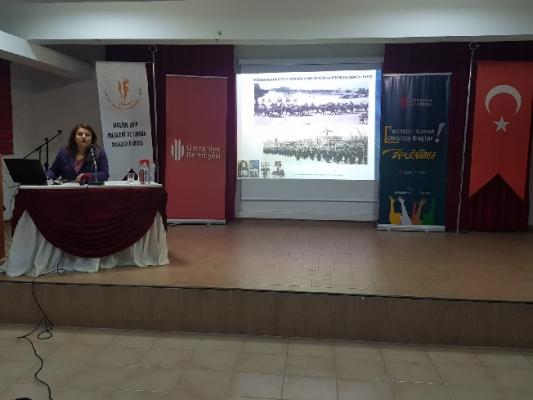Yazar İlknur Bektaş Kültür-Sanat Okulda Başlar Programına Katıldı