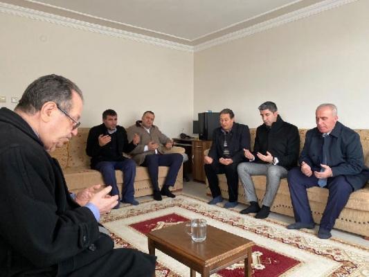 Başkan Gökhan Yüksel'den Şehit Ailesine Ziyaret