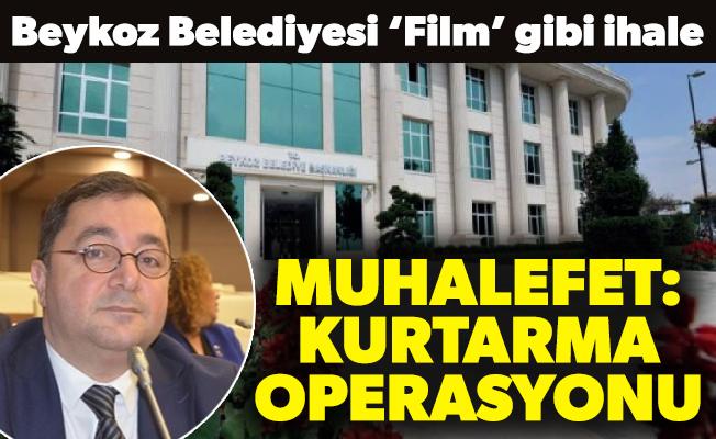 Beykoz Belediyesi 'Film' gibi ihale