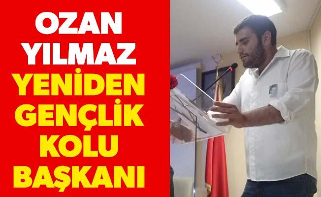 Ozan Yılmaz yeniden gençlik kolu başkanı