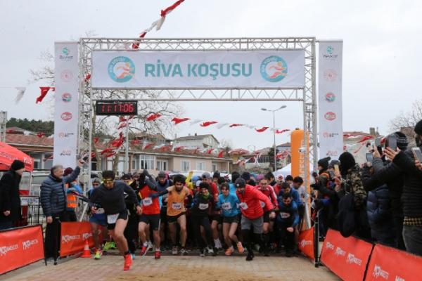Türkiye'nin En Güzel Manzaralı Koşusu Riva'da Yapıldı