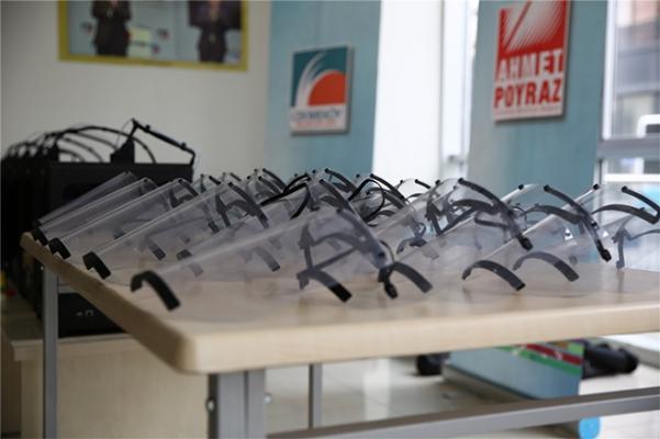 3D Yazıcılarla Maske Üretimine Başlandı