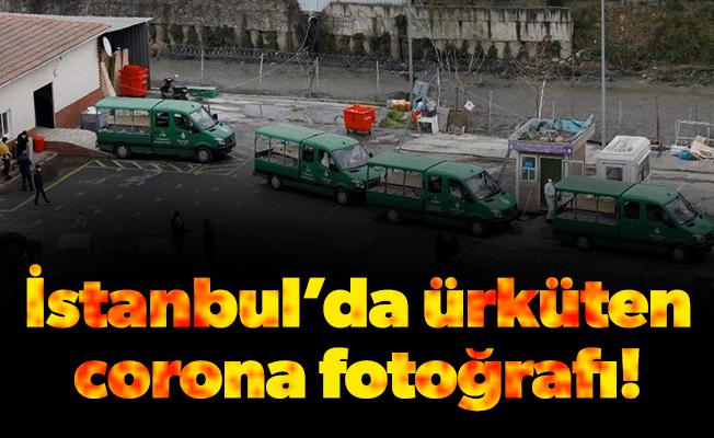 İstanbul'da ürküten corona fotoğrafı!