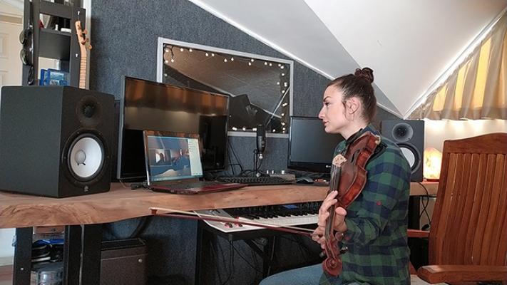 Müzik Akademisi Online Eğitime Başladı