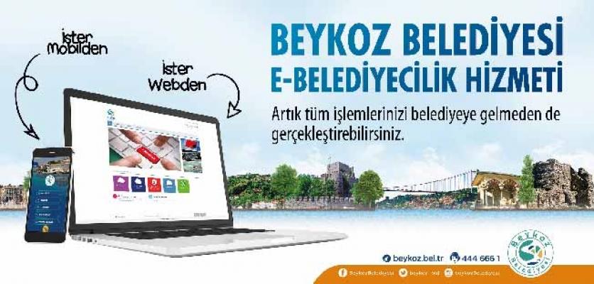 Beykoz Belediyesi Online Hizmetlerle Vatandaşların Yanında