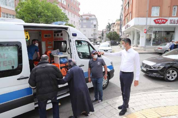 Kartal'da 65 Yaş Üstü Vatandaşlara Özel Hizmet
