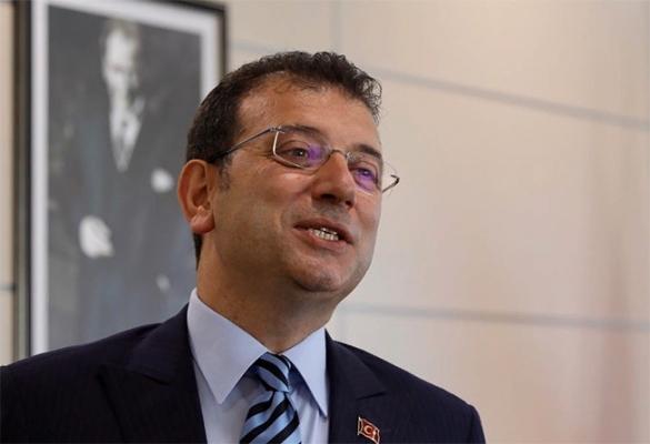 """İmamoğlu: """"O, İstanbul Halkına Ait Bir Eser Artık"""""""