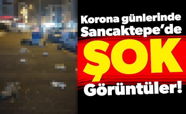 Korona Günlerinde Sancaktepe'de Şok Görüntüler!
