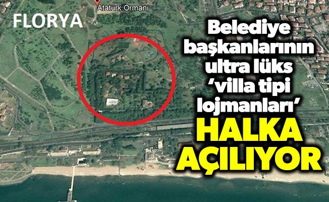 Belediye başkanlarının ultra lüks 'villa tipi lojmanları' halka açılıyor