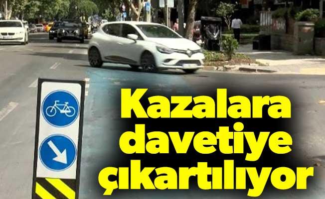 İstanbul'da bisiklet yolları işgal altında; Kazalara davetiye çıkartılıyor