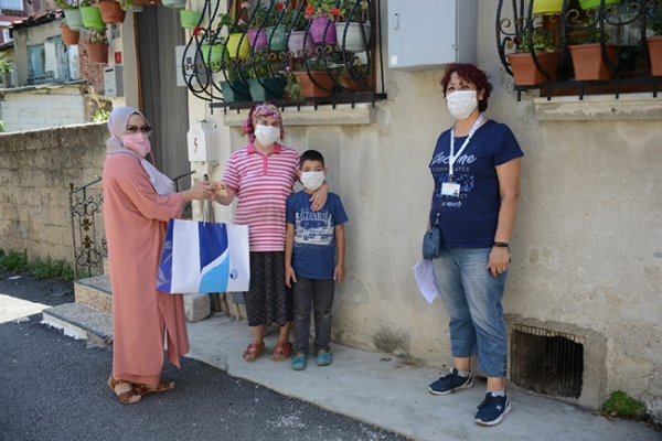 Tuzla Belediyesi Gönül Elleri Çarşısı'ndan Covid19 Tedbirleri