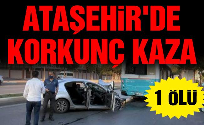 Ataşehir'de Korkunç Kaza