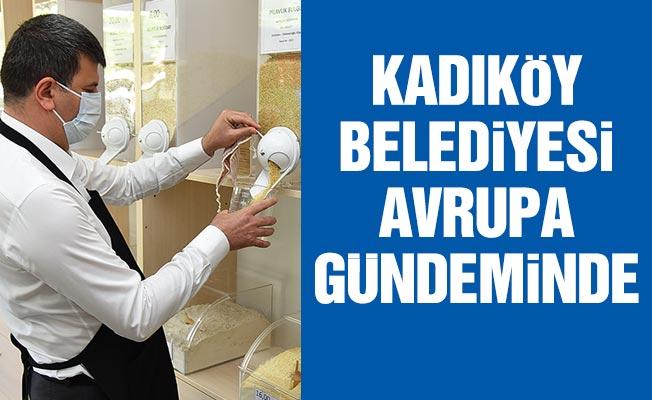 """KADIKÖY BELEDİYESİ """"ATIKSIZ YAŞAM HAREKETİ"""" AVRUPA GÜNDEMİNDE"""