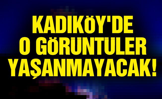 KADIKÖY'DE HAVAİ FİŞEK KULLANIMI YASAKLANDI