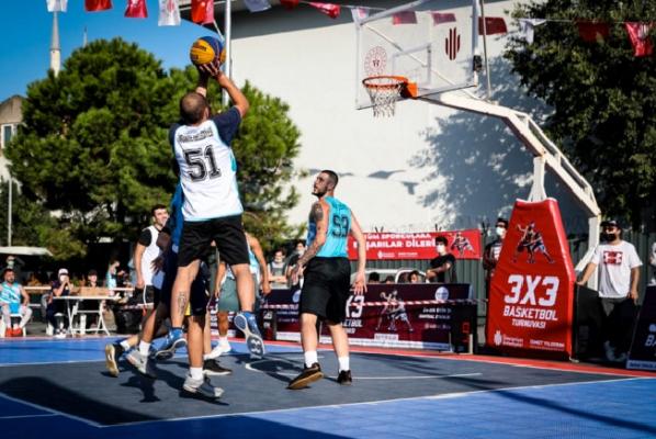 3x3 Sokak Basketbolu Turnuvası Nefes Kesti