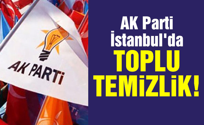 AK Parti İstanbul'da toplu temizlik!
