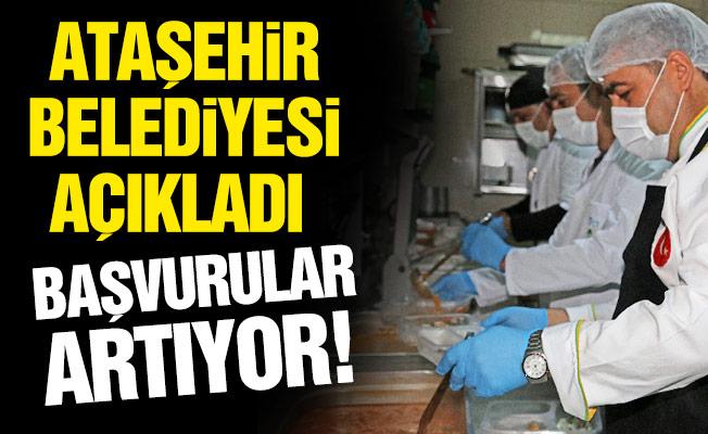 Ataşehir Belediyesi Açıkladı.Başvurular Artıyor