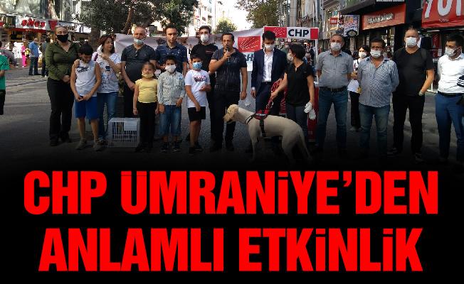 CHP Ümraniye'den anlamlı etkinlik
