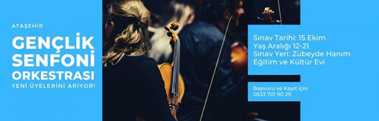 Gençlik Senfoni Orkestramız Yeni Üyelerini Bekliyor