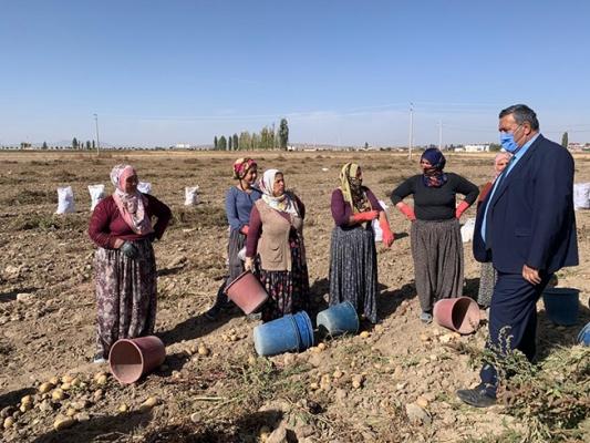 """Gürer: """"Kadın çiftçilere yıpranma payı ve SGK Prim desteği verilmeli"""""""