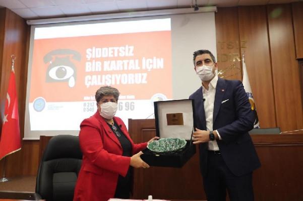 Kartal Belediyesi, Kadına Karşı Şiddetle Mücadele Protokolü İmzaladı