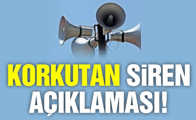 Üsküdar ve Kadıköy'de herkesi korkutan siren!