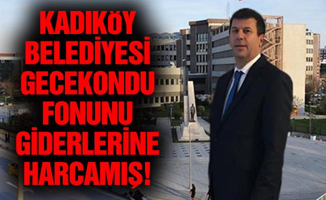 KADIKÖY BELEDİYESİ GECEKONDU FONUNU GİDERLERİNE HARCAMIŞ!