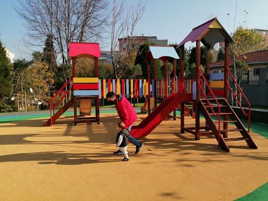 Kazım Karabekir Parkı Yeni Görünümüne Kavuştu