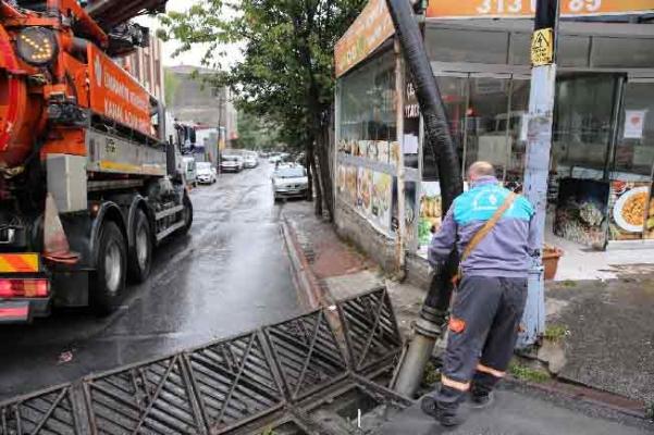 Yağmur Suyu Kanal Çalışmaları