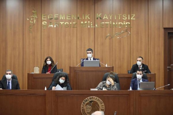 Kartal'da 2021 Yılının İlk Meclis Toplantısı Yapıldı