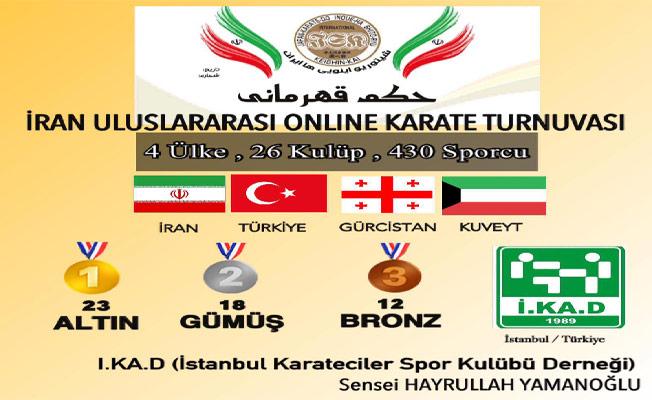 Online Karate Turnuvasına İKAD Damgası